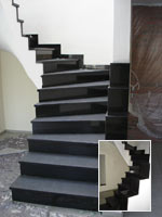 treppe nero assoluto mischungsverh ltnis zement. Black Bedroom Furniture Sets. Home Design Ideas
